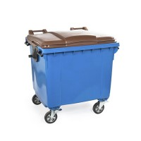 Rolcontainer 1100 liter
