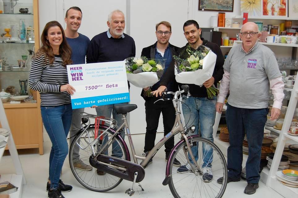 7500ste-fiets Meerwinkel