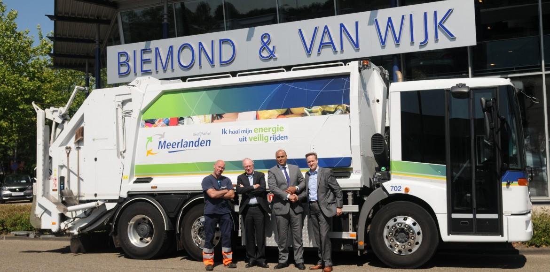 Biemond & van Wijk en Meerlanden ondertekenen driejarig contract voor bedrijfsafval