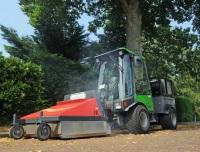 Duurzame onkruidbestrijding met de weedsteamer