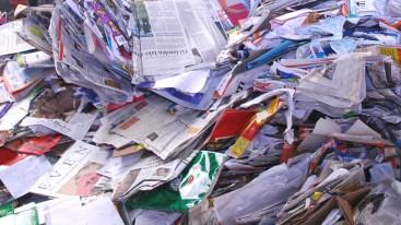 Papier inzameling