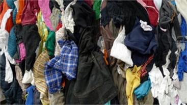 Textiel inzameling