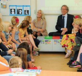 Wethouder Kruijswijk bezoekt groep 5 BSV web