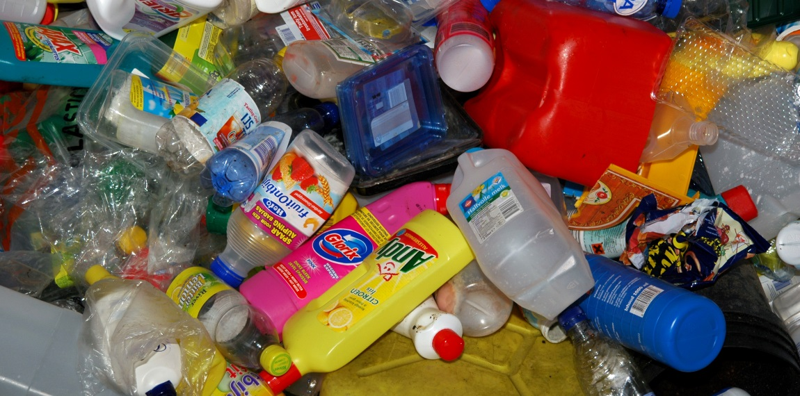 Plastic inzameling
