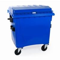 Rolcontainer 770 liter beveiligd