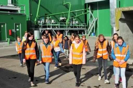 Basisschoolleerlingen bezoeken Groene Energiefabriek Meerlanden